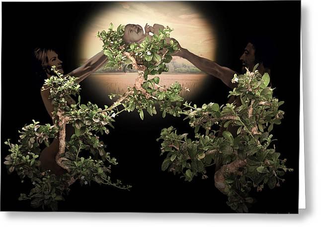 Floral Digital Art Digital Art Greeting Cards - Legacy Greeting Card by Torie Tiffany