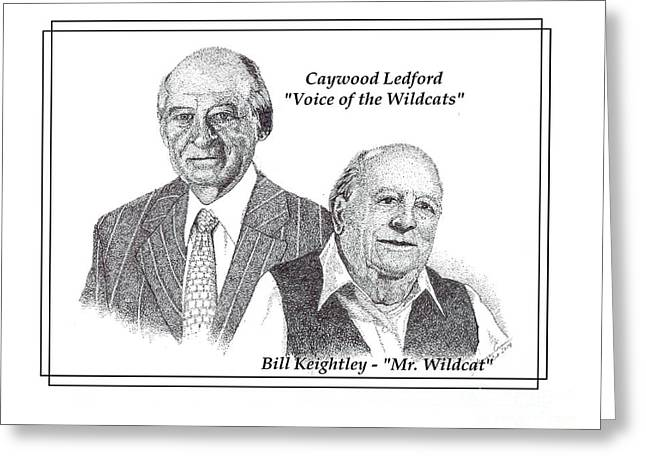 Mr. Basketball Greeting Cards - Legends of Kentucky Greeting Card by Tanya Crum