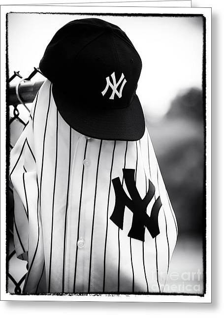 Bronx Bombers Greeting Cards - Legends of the Fall Greeting Card by John Rizzuto