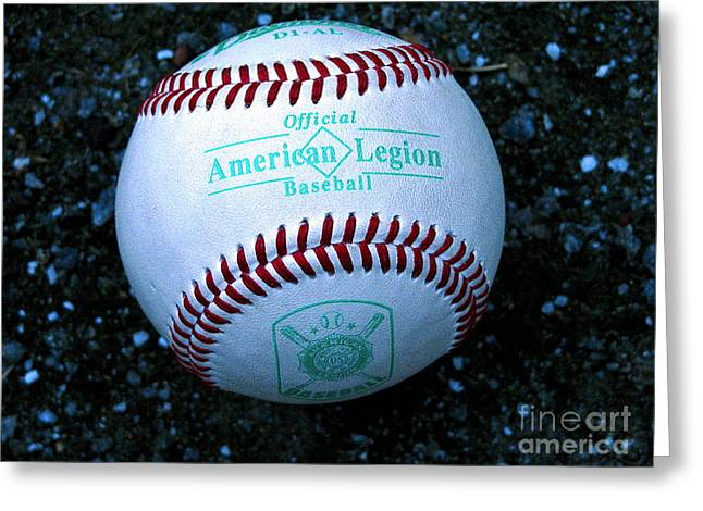 Life Is Beautiful Greeting Cards - Legion Baseball Greeting Card by Colleen Kammerer