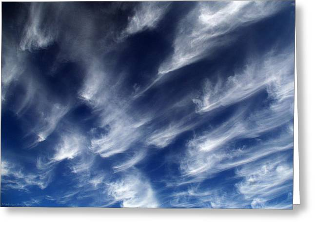 Himmel Greeting Cards - Legion of clouds Greeting Card by Philippe Meisburger