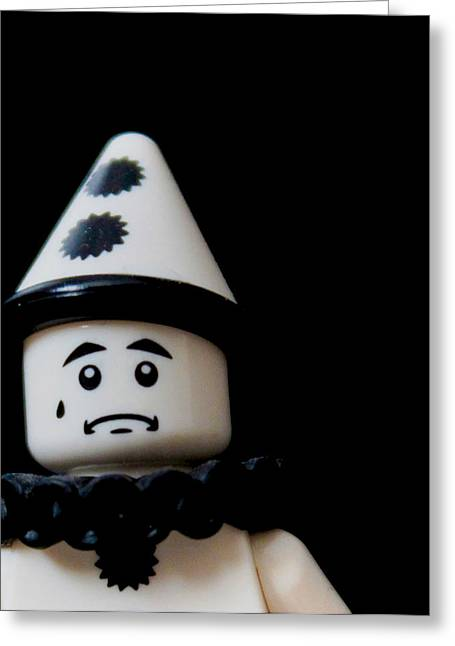 Lego Photographs Greeting Cards - Lego Clown Greeting Card by Martin Newman