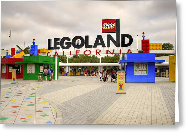 Theme Parks Greeting Cards - Legoland California Greeting Card by Ricky Barnard
