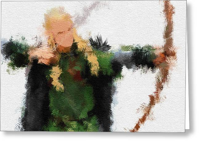 Legolas Greeting Cards - Legolas Greeting Card by Miranda Sether