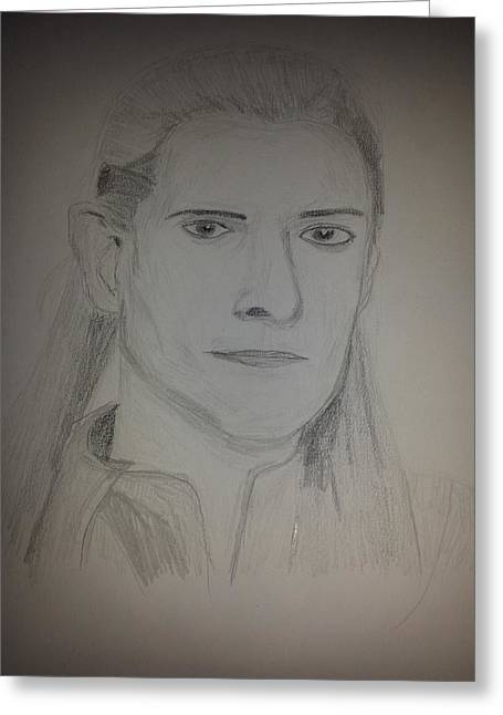 Legolas Greeting Cards - Legolas Greeting Card by The  Wizard
