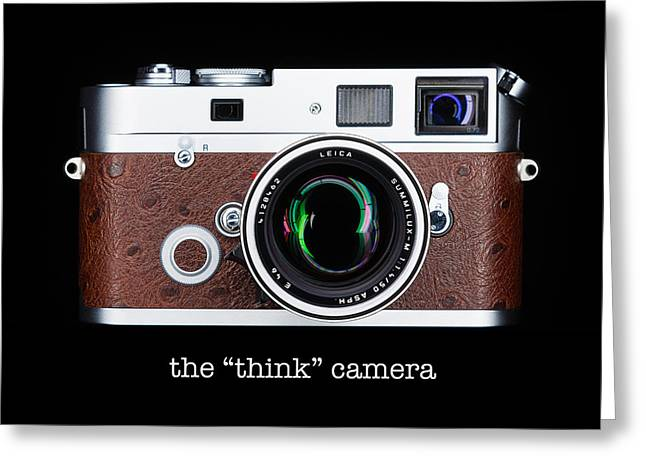 Vintage Design Greeting Cards - Leica M7 Greeting Card by Dave Bowman