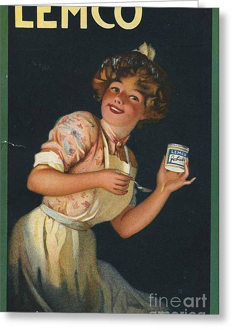 Lemco 1910s Uk Greeting Card by The Advertising Archives