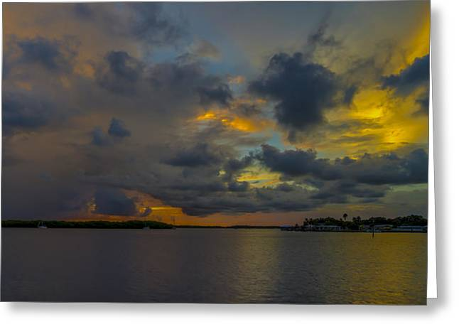 Englewood Greeting Cards - Lemon Bay Morning Greeting Card by Russ Burch