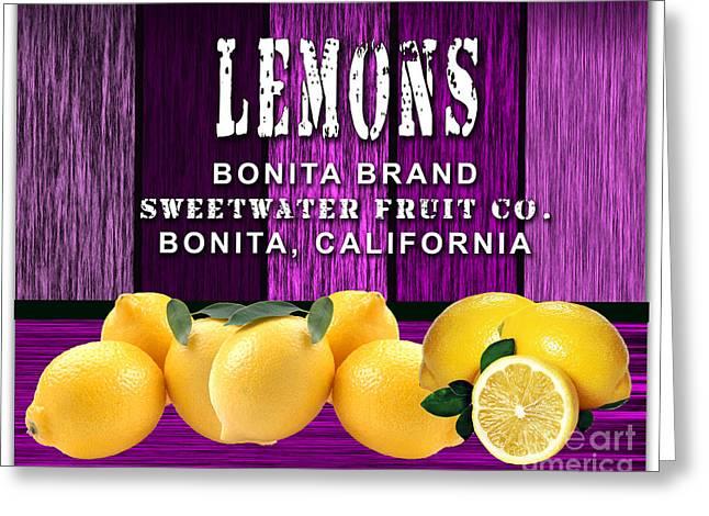 Lemon Greeting Cards - Lemon Farm Greeting Card by Marvin Blaine