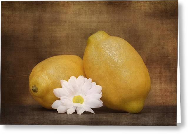 Lemon Art Greeting Cards - Lemon Fresh Still Life Greeting Card by Tom Mc Nemar