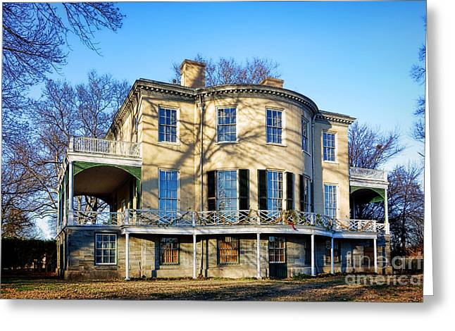 Fairmount Park Greeting Cards - Lemon Hill Mansion Greeting Card by Olivier Le Queinec