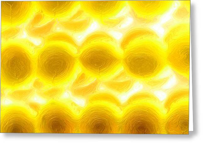 Charlotte Digital Art Greeting Cards - Lemon Know Greeting Card by Morgan Carter