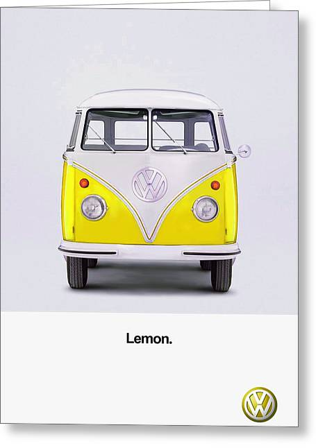 Beetle Greeting Cards - Lemon Greeting Card by Mark Rogan