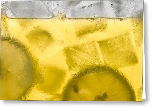Lemonade Greeting Card by Steve Gadomski