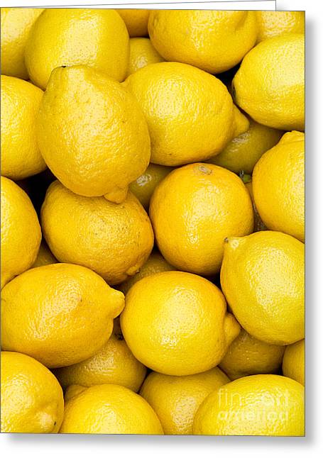 Rick Piper Greeting Cards - Lemons 02 Greeting Card by Rick Piper Photography