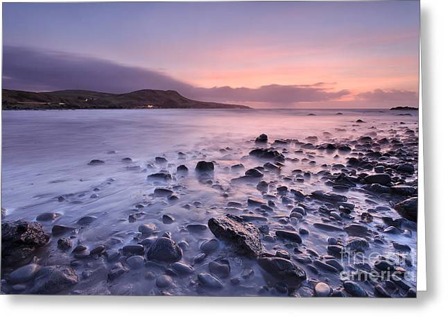 Ayrshire Greeting Cards - Lendalfoot Greeting Card by Rod McLean
