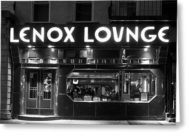 Lenox Lounge_176 Greeting Card by Andria Patino