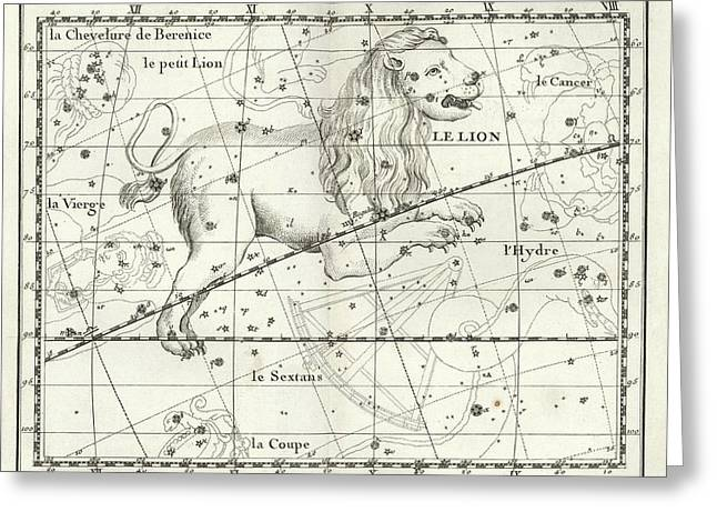 Leo Constellation Greeting Card by Us Navy