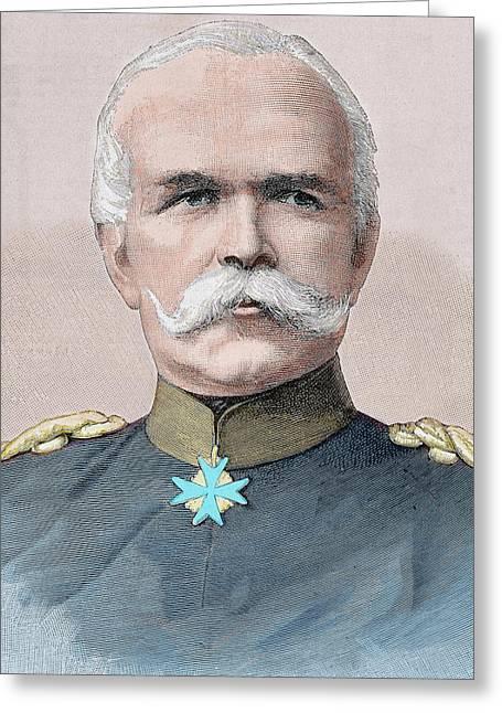 Leo Von Caprivi (caprivi Georg Leo Graf Greeting Card by Prisma Archivo