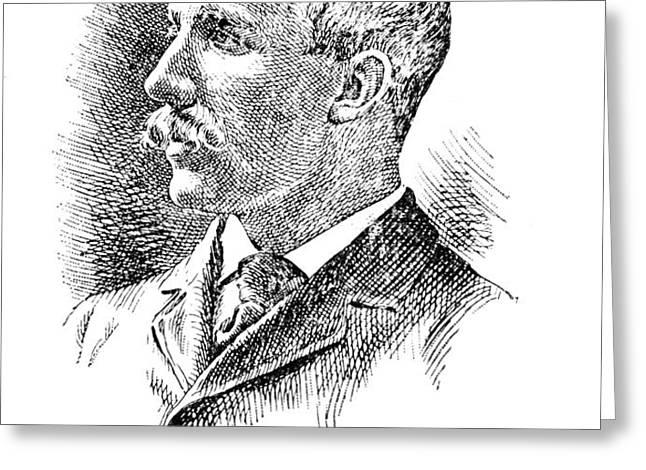 LEONARD WOOD (1860-1927) Greeting Card by Granger