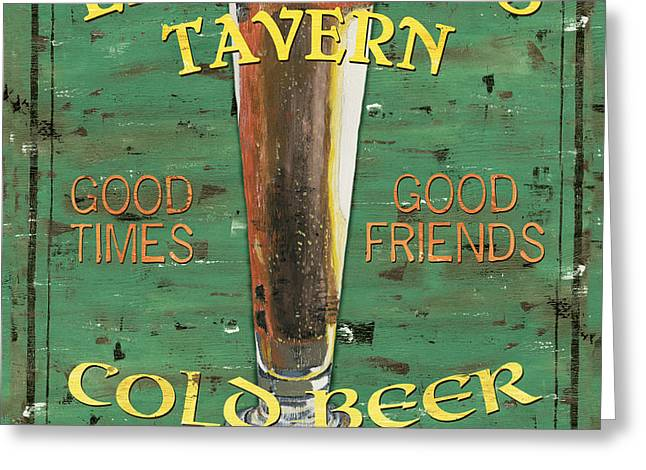 Leonetti's Tavern Greeting Card by Debbie DeWitt
