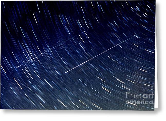 Meteor Shower Greeting Cards - Leonids Greeting Card by John Chumack