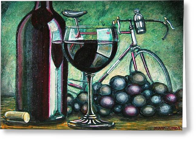 Recently Sold -  - Mark Howard Jones Greeting Cards - Leroica Still Life Greeting Card by Mark Howard Jones