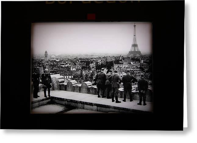 Les Invalides - Paris France - 011367 Greeting Card by DC Photographer