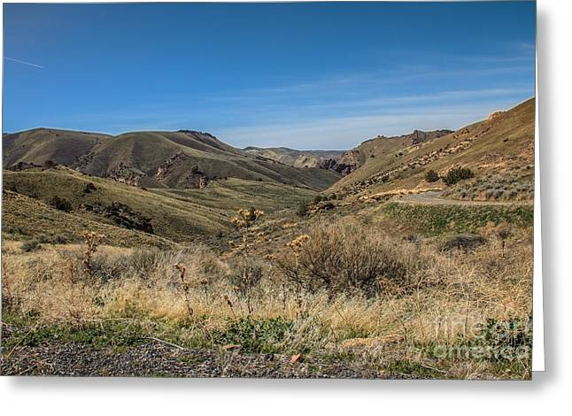 Colorful Cloud Formations Greeting Cards - Leslie Gulch II Greeting Card by Robert Bales