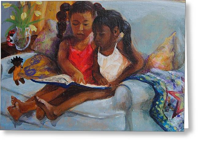 Lessons Greeting Card by Charon Rothmiller