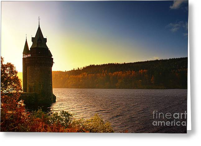 Welsh Reservoirs Greeting Cards - Let down your hair Rapunzel Greeting Card by Graeme Pettit