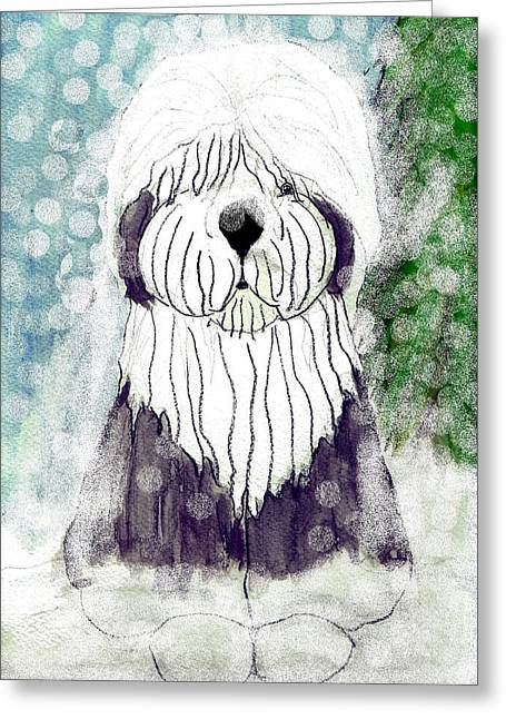 Oes Greeting Cards - Let it snow Greeting Card by Cathy Howard