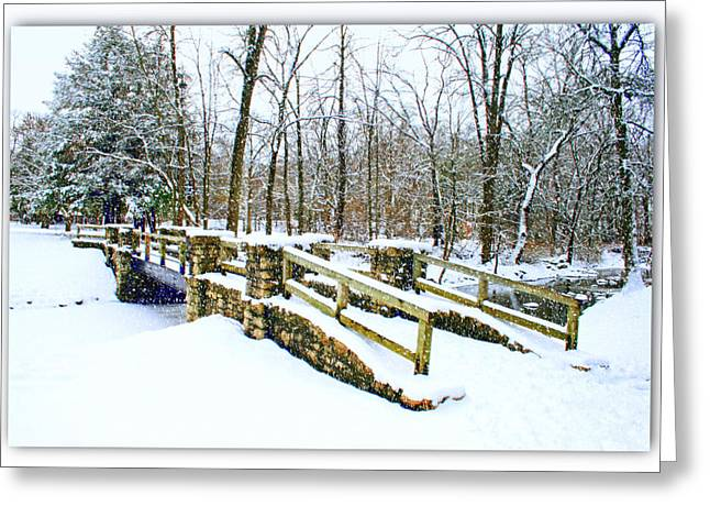 Kkphoto1 Greeting Cards - Let It Snow Let It Snow Greeting Card by Kay Novy