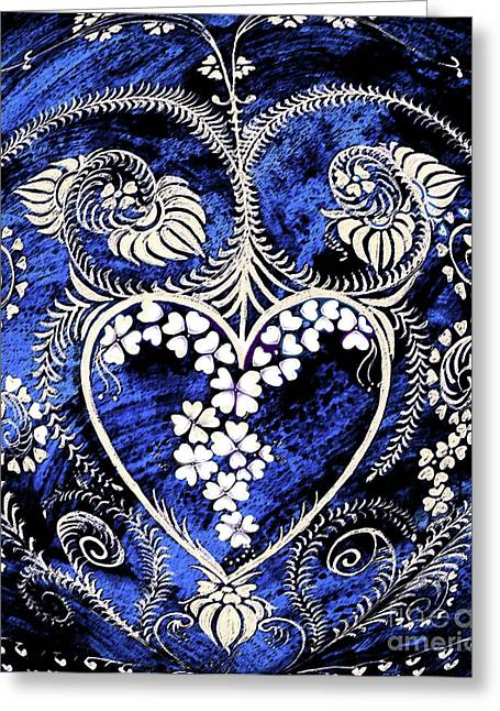 Let Love Rule The World. Greeting Card by Anjali Vaidya
