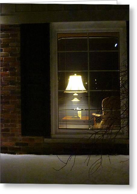 Guy Ricketts Photography Greeting Cards - Let Me Go To The Window Greeting Card by Guy Ricketts