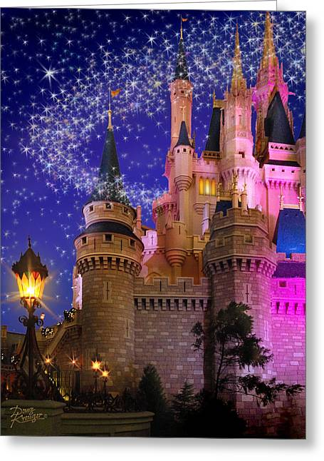 Let The Magic Begin Greeting Card by Doug Kreuger