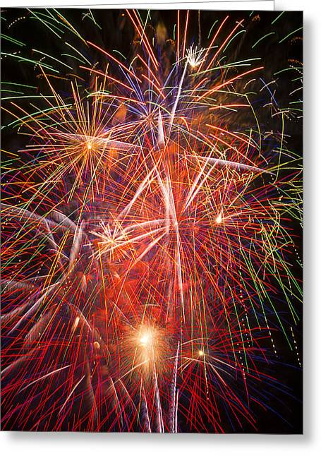 4th July Photographs Greeting Cards - Let us celebrate Greeting Card by Garry Gay