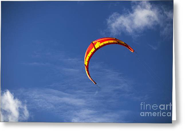 Kite Greeting Cards - Lets Go Fly A Kite Greeting Card by Nigel Jones