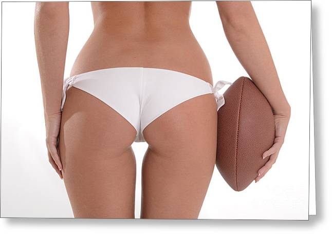 Bare Ass Greeting Cards - Lets Play Ball Greeting Card by Jt PhotoDesign