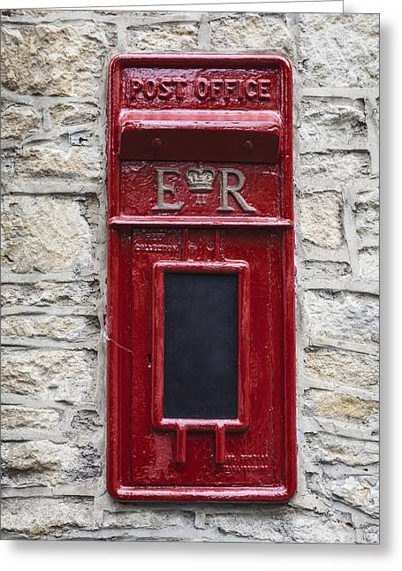 Pillar Box Greeting Cards - Letterbox Greeting Card by Joana Kruse