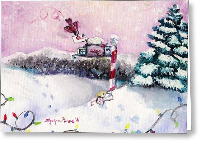Letters For Santa Greeting Card by Shana Rowe Jackson
