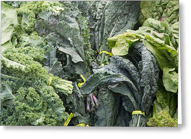 Lettuce Green Greeting Cards - Lettuce Greeting Card by Rebecca Cozart