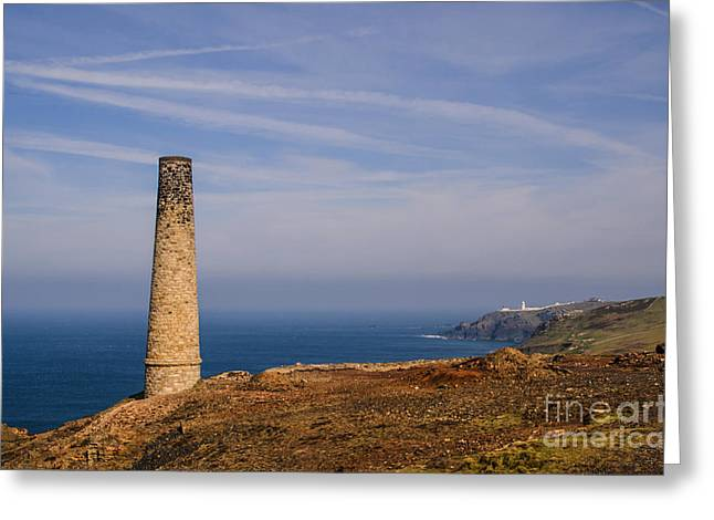 Levant Greeting Cards - Levant to Pendeen View Greeting Card by Chris Thaxter