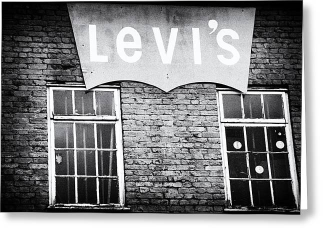 Levi Greeting Cards - Levis Greeting Card by Photollery