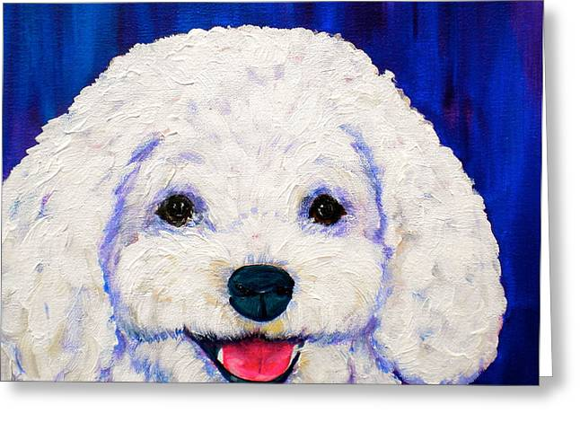 Lexi Greeting Card by Debi Starr