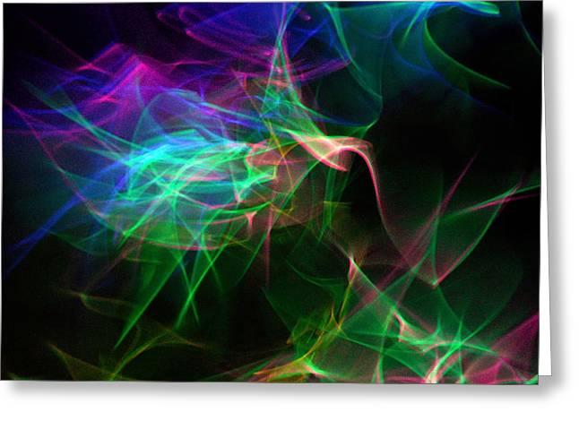 Illuminate Greeting Cards - LexyFyr 14 Greeting Card by Cyryn Fyrcyd