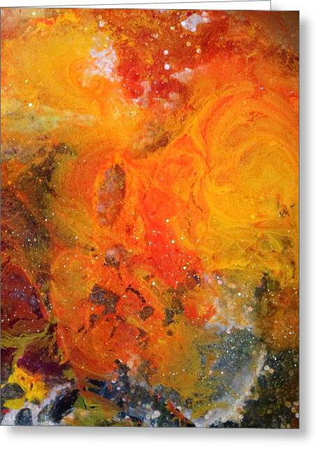 Stellar Paintings Greeting Cards - Lg1003 Greeting Card by Kathleen Fowler