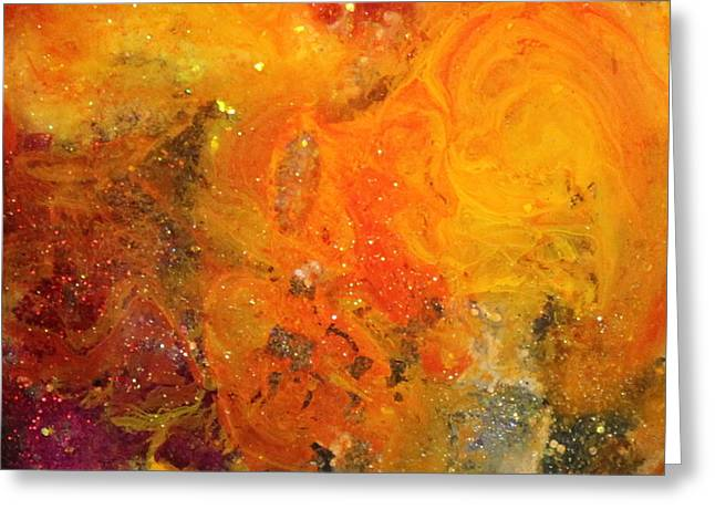 Stellar Paintings Greeting Cards - Lg1004 Greeting Card by Kathleen Fowler