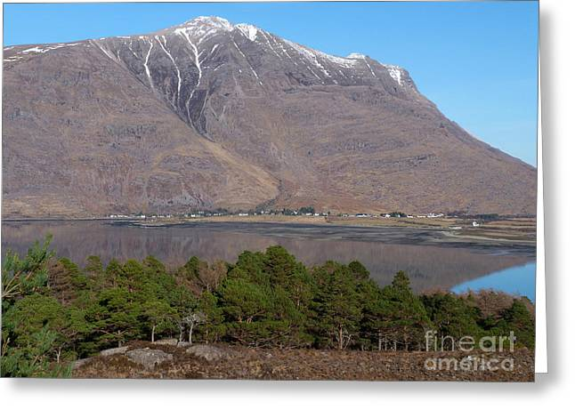 Torridon Greeting Cards - Liathach - Torridon  Greeting Card by Phil Banks