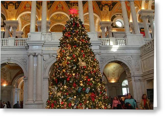 Library of Congress - Washington DC - 011312 Greeting Card by DC Photographer
